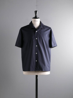 ITALIAN COLLAR COMFORT SHIRT Dark Navy