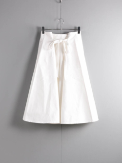 LOOP BELT SKIRT Natural