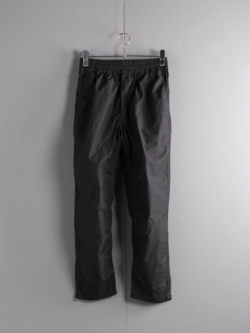 S1903070 PT-007 GOMME PANTS Black