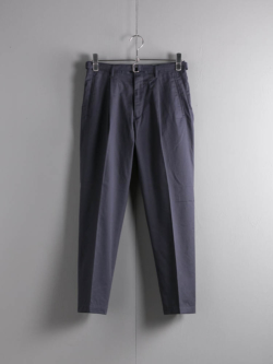 BELTED 1TUCK LIGHT TROUSERS Dull Navy