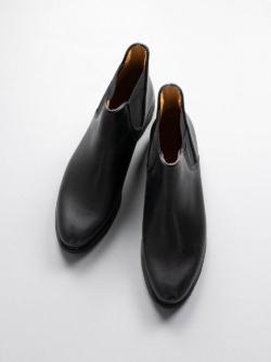 PARABOOT | VALDAINE/GRIFF Noire-Lis Noir サイドゴアブーツ ヴァルデーヌの商品画像