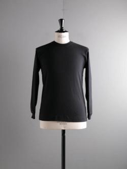 GICIPI | 2003P Nero コットンフライス長袖Tシャツの商品画像