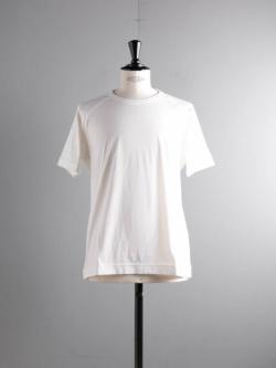 smoothday | SA-T052-001 Off White テクノラマ天竺ラグラン半袖Tシャツの商品画像