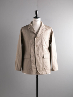 ENGINEERED GARMENTS | LOITER JACKET – HIGH COUNT TWILL Khaki ロイタージャケットの商品画像