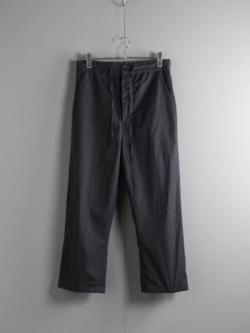 AULICO | PANTS Black コットンドローストリングパンツの商品画像