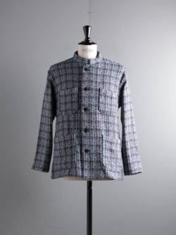 ENGINEERED GARMENTS | DAYTON SHIRT – POLY TWEED Blue デイトンシャツの商品画像