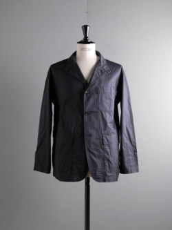 ENGINEERED GARMENTS | LOITER JACKET – HIGH COUNT TWILL Dk. Navy ロイタージャケット