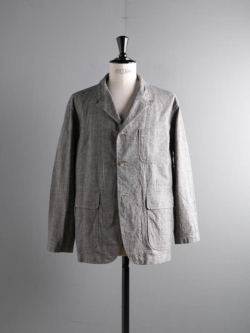 ENGINEERED GARMENTS | LOITER JACKET – CL GLEN PLAID Grey ロイタージャケットの商品画像
