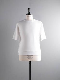 GICIPI | 2002P Bianco コットンフライスリラックスフィットTシャツの商品画像