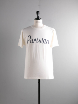 TEE SHIRT PARISIEN White