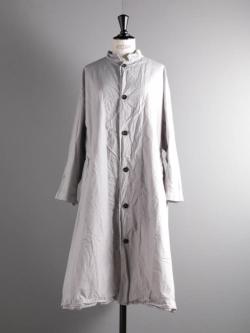 YARMO | BIG COAT COTTON CAMBRIC Grey コットンキャンブリックビッグコートの商品画像