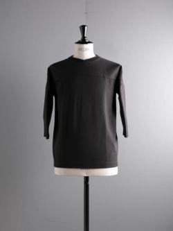 FilMelange | DAMIAN Sumi Kuro 度詰めネップ天竺フットボールTシャツ ダミアンの商品画像