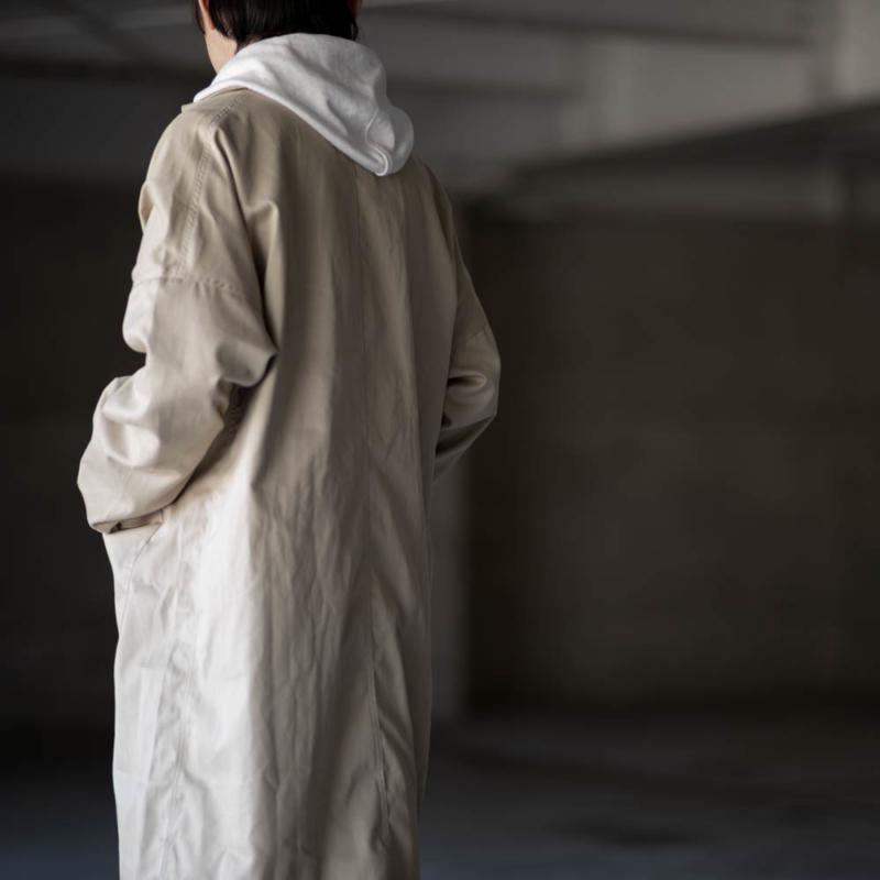 YARMO(ヤーモ) イギリス製 コットンダスターコート Putty 通販取扱