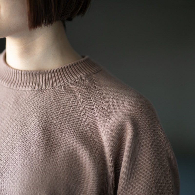 バトナー コットンクルーネックセーターの通販取扱い