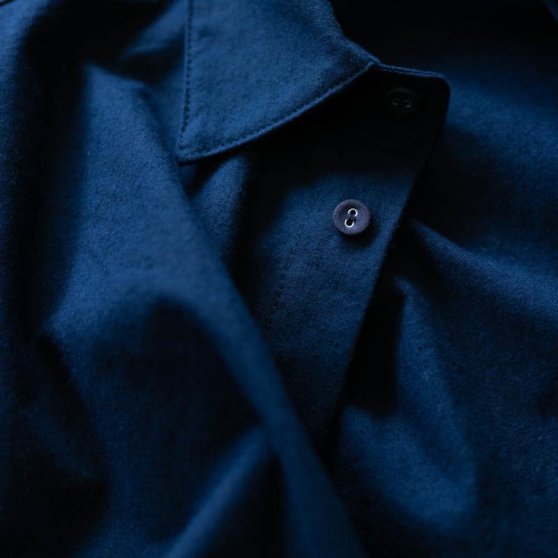 フランクリーダー バルティックブルーベッドシーツシャツ