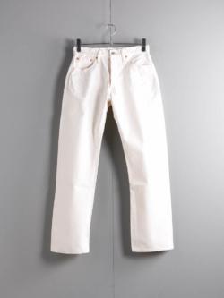 RESOLUTE | 711 White-One Wash (Length32) スタンダードXXストレートジーンズ(レングス32)
