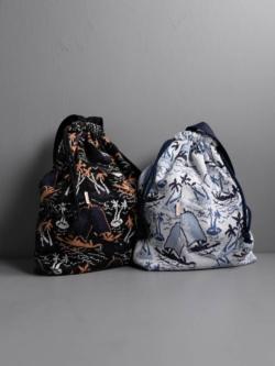 FilMelange | JEAN ダブルジャカードアロハ2WAYバッグ ジーンの商品画像