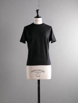 BATONER | BN-20SL-044 Black 半袖クルーネックパックTシャツの商品画像
