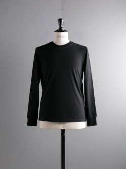 BATONER | BN-20SM-039 Black 長袖丸胴Tシャツの商品画像