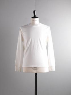 BATONER | BN-20SM-039 White 長袖丸胴Tシャツの商品画像