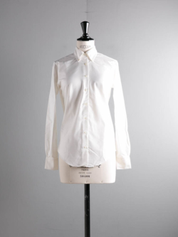 BROOKS BROTHERS | CLASSIC-FIT SUPIMA COTTON OXFORD BUTTON-DOWN SHIRT White オックスフォードボタンダウンシャツの商品画像