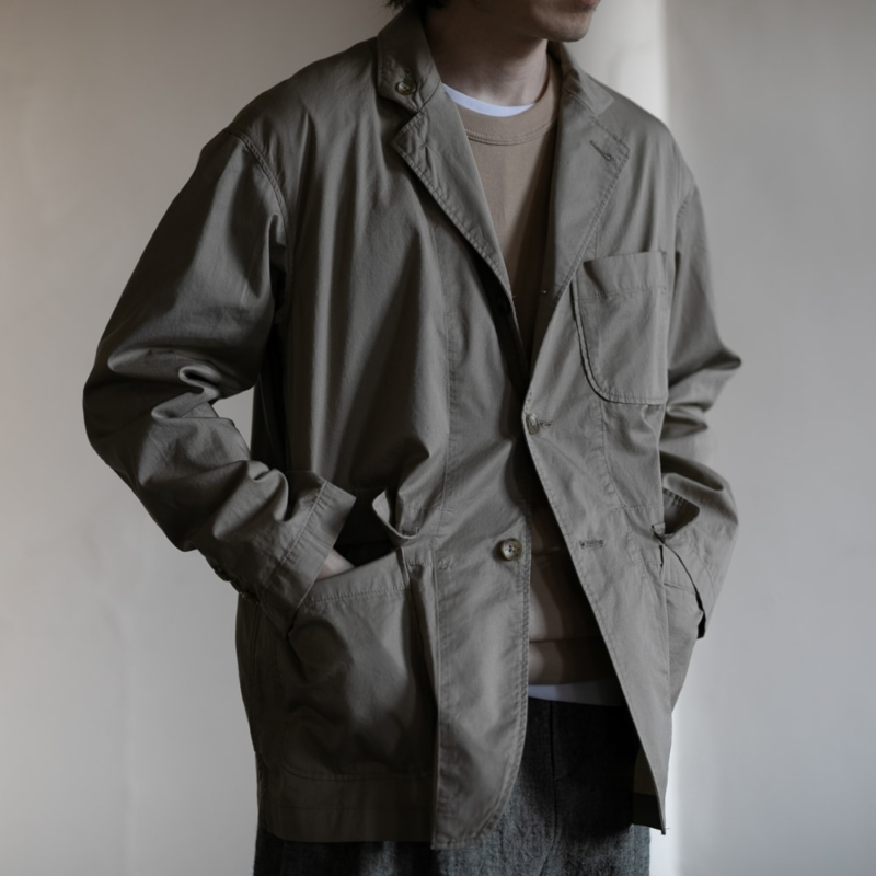 ENGINEERED GARMENTS LOITER JACKET HIGH COUNT TWILL