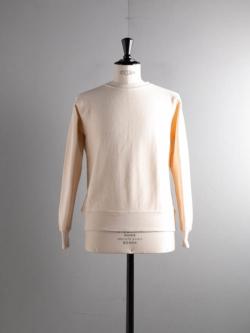 FilMelange | ANDY Natural 空紡裏起毛スウェットシャツ