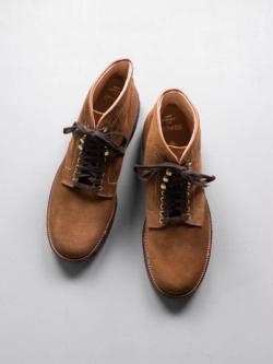 Alden | SUEDE 6″ PLAIN TOE BOOTS【46054H】 Snuff スウェードプレーントゥブーツの商品画像