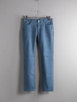 MAISON MARGIELA | S30LA0060 Blue ガーメントダイ5ポケットパンツの商品画像