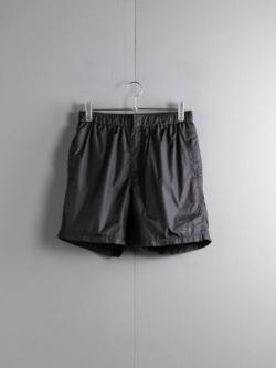 Saturdays NYC | TRENT SOLID SWIM SHORT Black ナイロンスイムショーツの商品画像