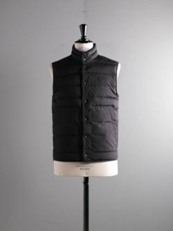 MONCLER | MERAK GILET Black ライトダウンベストの商品画像
