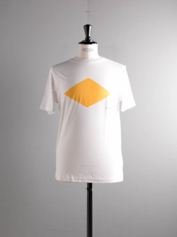 Saturdays NYC | GENERIC DIAMOND PRINTED T SHIRT White プリントTシャツの商品画像