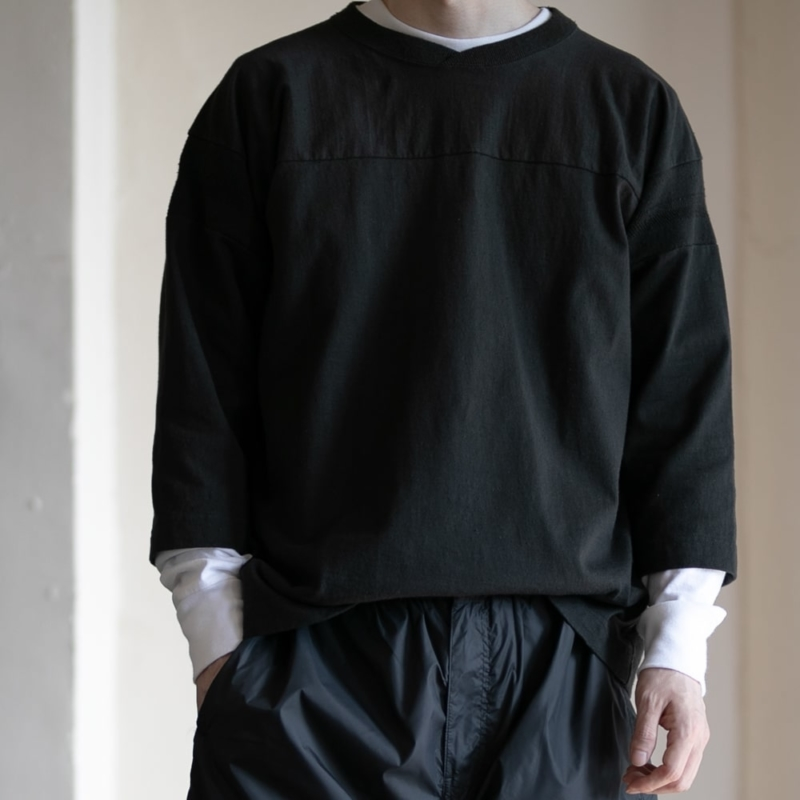 フィルメランジェ 度詰めネップ天竺フットボールTシャツの通販