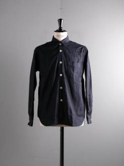 Sans Limite | W2001116 SH01B Indigo 8ozデニムボックスレギュラーシャツの商品画像