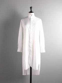 YINDIGO A M | CH003 IMPERIAL NIGHT SHIRT Snow インペリアルナイトシャツ