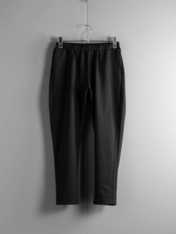 BATONER | BN-20FM-026 JERSEY TAPERED PANTS Black ジャージーテーパードパンツの商品画像