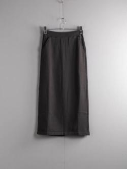 FilMelange | ROSE Sumi Kuro ラディー裏毛スカートの商品画像