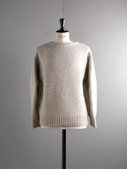 FilMelange | STARRETT White Melange スラブジロンカレッジセーター スターレットの商品画像