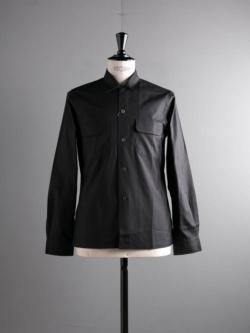 Sans Limite | W1301003 SH03 Black ブロード大開襟シャツの商品画像