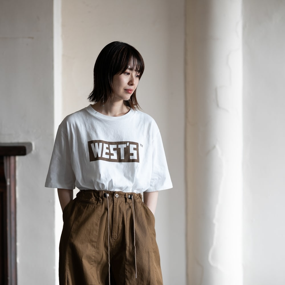 Westoveralls WEST'S T-SHIRT Brownの福岡通販取扱店