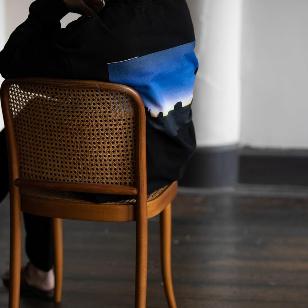 ウエストオーバーオールズ モニュメントバレーTシャツ ブラック