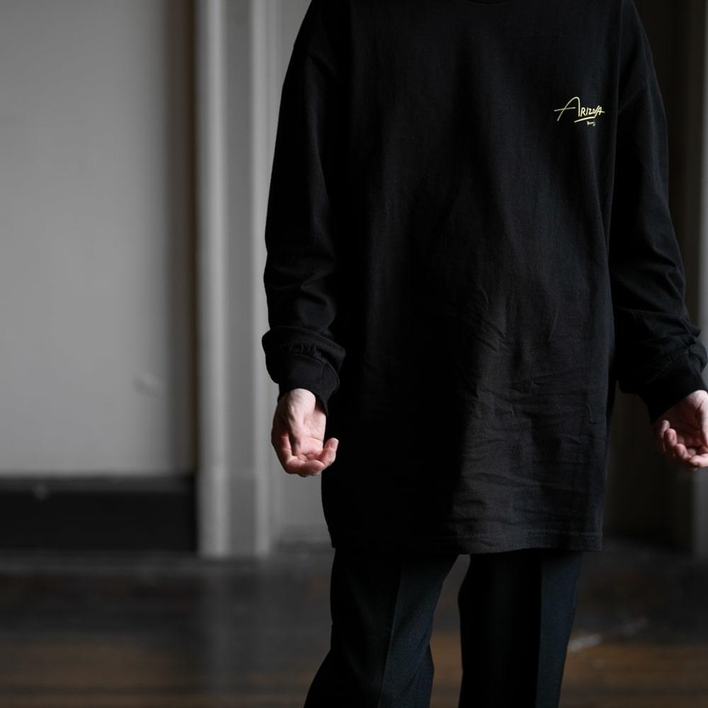 ウエストオーバーオールズ モニュメントバレーフォト長袖Tシャツ