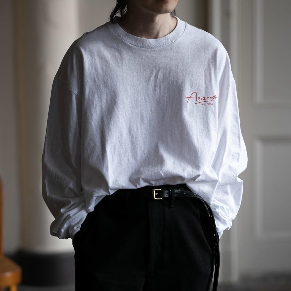 ウエストオーバーオールズ アリゾナフォト長袖Tシャツ ホワイト