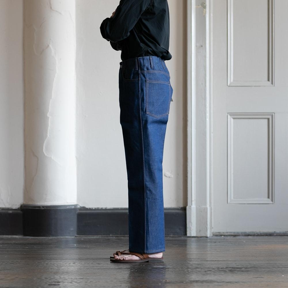 Westoverallsの817Fのindigo regid jeans