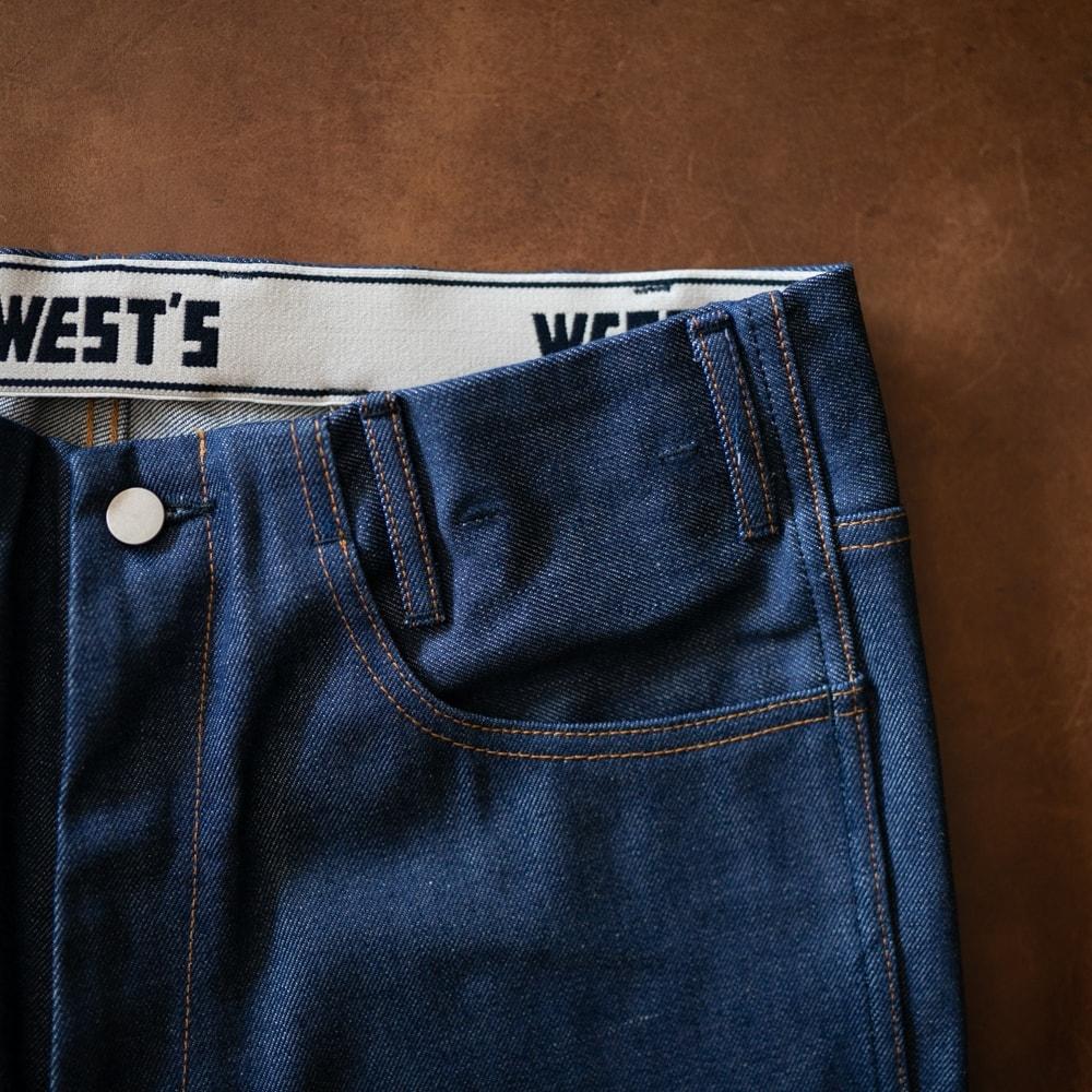 ウエストオーバーオールズのジーンズの福岡通販取扱店