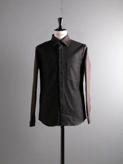 FRANK LEDER | BROWN JEANS SHIRT 84:Lt Brown ブラウンジーンズシャツの商品画像