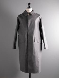 MACKINTOSH | GR-101/W Grey ウールゴム引きステンカラーコートの商品画像