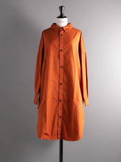 OVERSIZED SHIRTS CAMBRIC COTTON Terracotta
