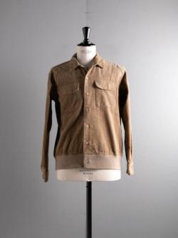 ENGINEERED GARMENTS | CLASSIC SHIRT – 14W CORD Khaki コーデュロイクラシックシャツの商品画像