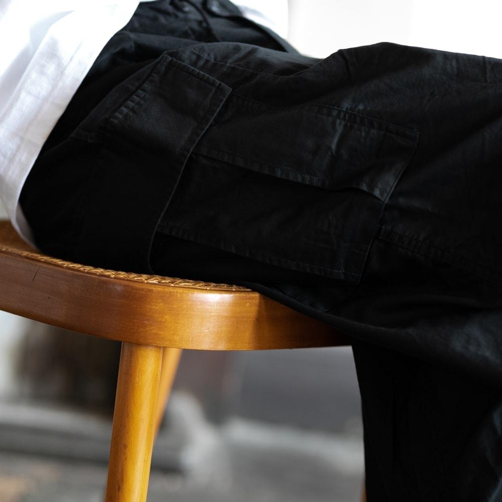 ニードルズ BDUヒザデルパンツ ブラックの福岡通販取扱店